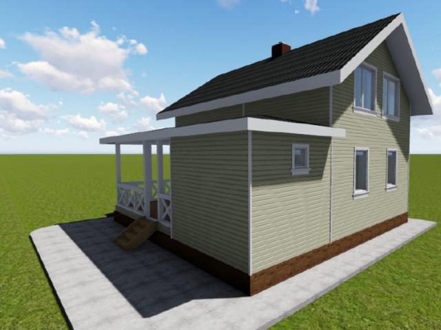 Проект дома 7